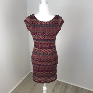 Volume One Red Juniors Dress Size M